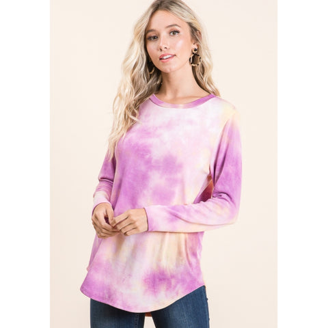 Sorbet Tye Dye Tee: 2 Colors