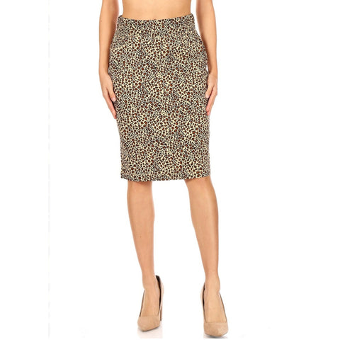 Leopard Skirt by G