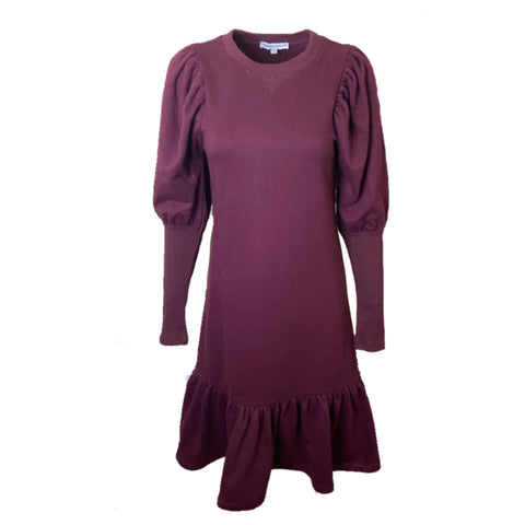 Alexa Dress: Burgundy