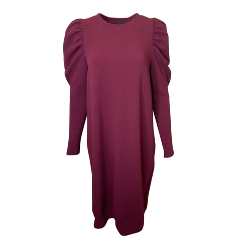 Simone Dress: Burgundy