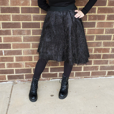 Sparkly Fringe Skirt: Teen