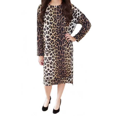 Leopard Hi Lo Tunic Dress