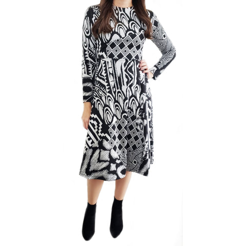 Anya Abstract Jenny Dress