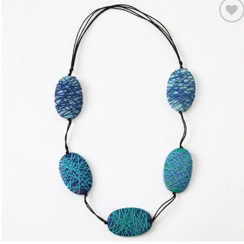 Sylca Necklace: Felicity Blue
