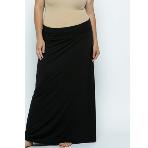 Slinky Skirt by Cozi: Plus Size