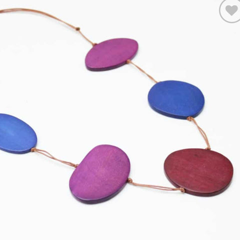 Sylca Necklace: Avery Statement Purpled