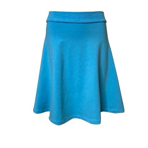 Supreme Swing Skirt: Sea Blue