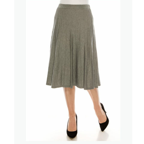 Clara Skirt by Yal: Grey