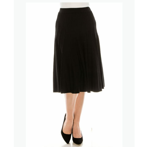 Clara Skirt by Yal: Black