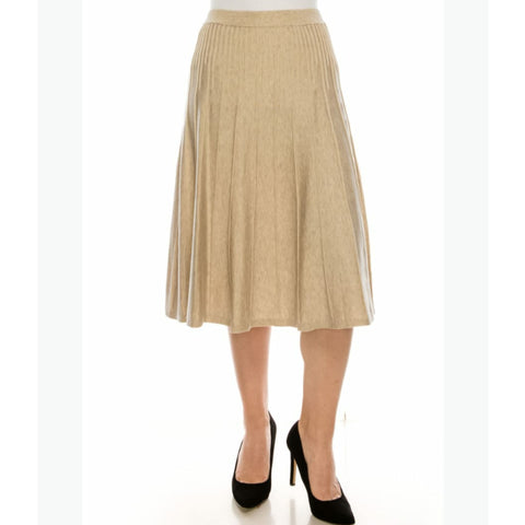 Clara Skirt by Yal: Oatmeal