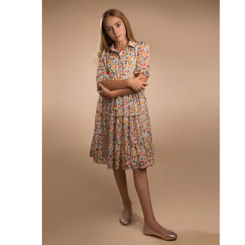 Colorful Tulip Dress by Paisley (Teen)