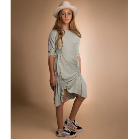 Scrunched Dress by Paisley (Teen): Light Blue