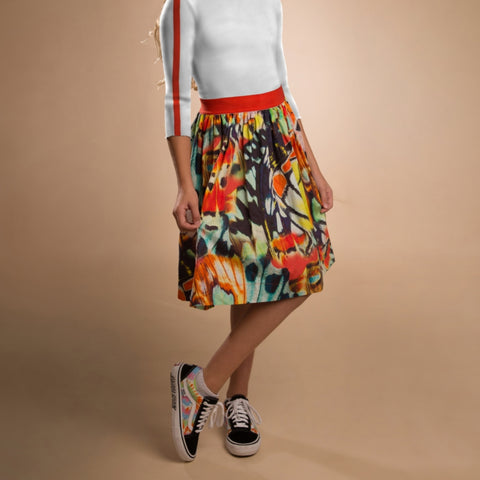 Butterfly Aline Skirt by Paisley (Teen)