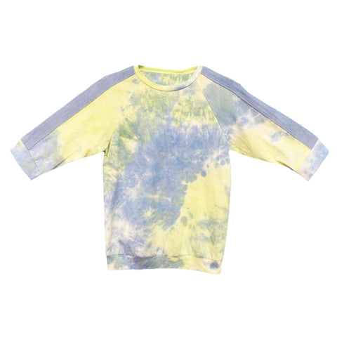 Vovo Tie Dye 2 Piece Set (Teen): Yellow/Blue