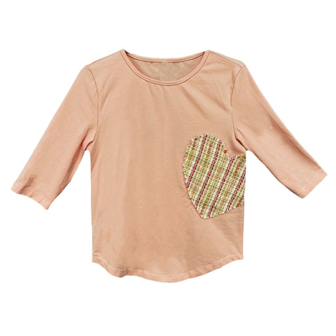 Heart Top (Teen): Pink