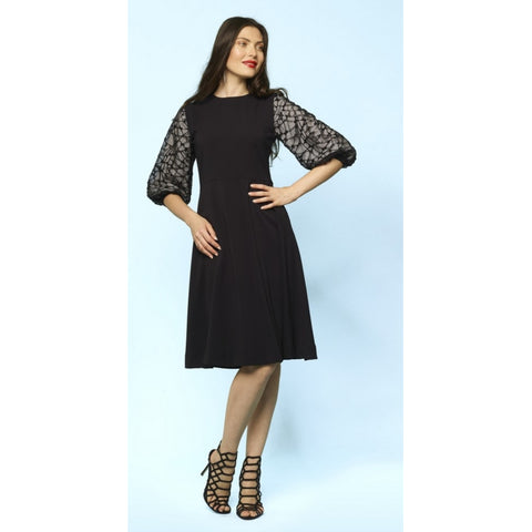 Modina Lace Sleeve Dress