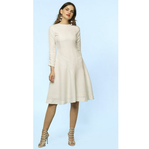 Shaindy Dress: White