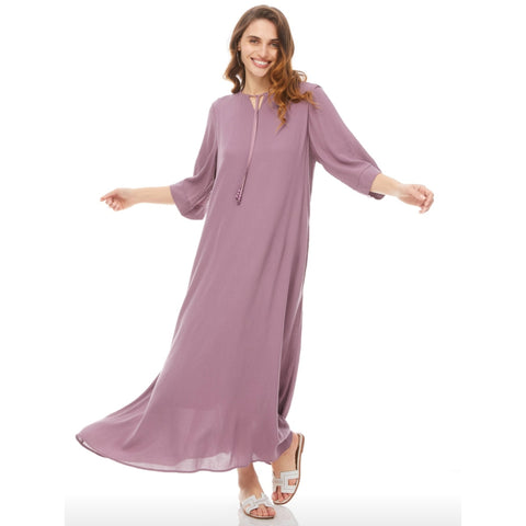 Summer Midi Maxi Dress: Dusty Lilac