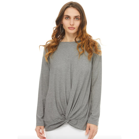 Betty Top: Grey