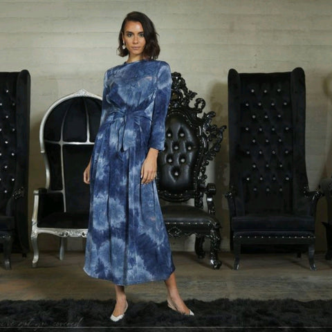 Willow Maxi: Blue