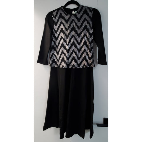 Chevron Vest Look Dress
