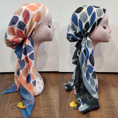 Dacee Pre Tied Headscarves: Mixed Shapes
