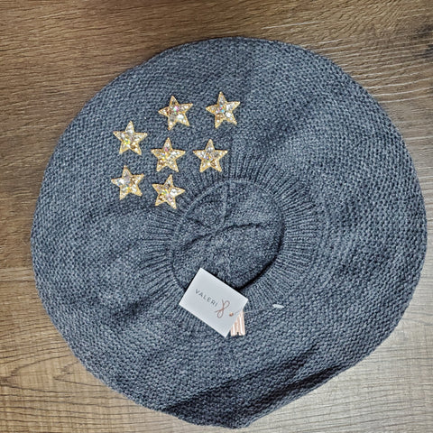 Star Struck Beret by Valeri