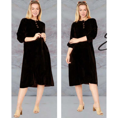 Eden Dress: Black