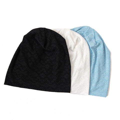 Eyelet Beanie by Nicsessories