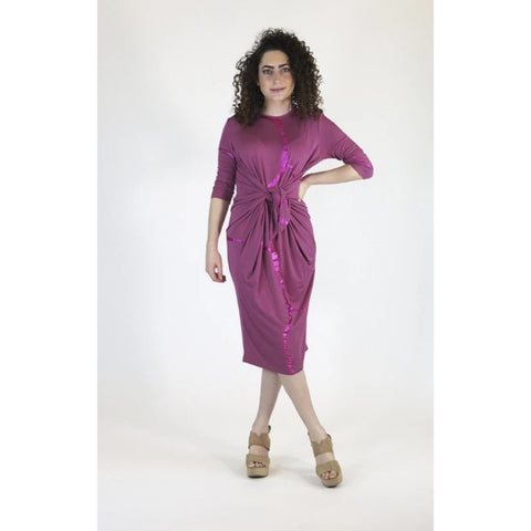 Pink Boho Dress: Kintsugi Collection