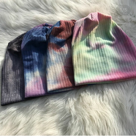 Sweater Tye Dye Beanies - The Mimi Boutique