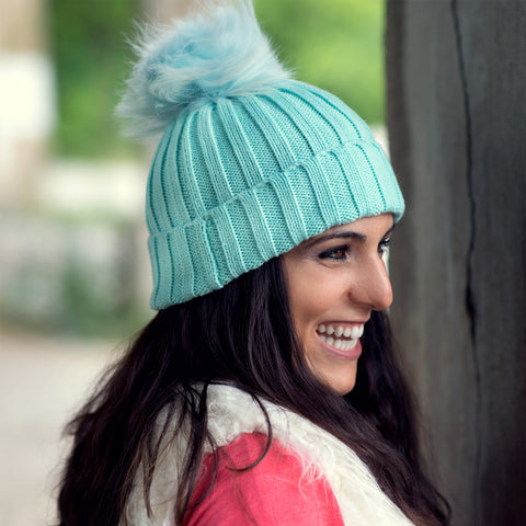 Classic Pom Pom Hat - The Mimi Boutique