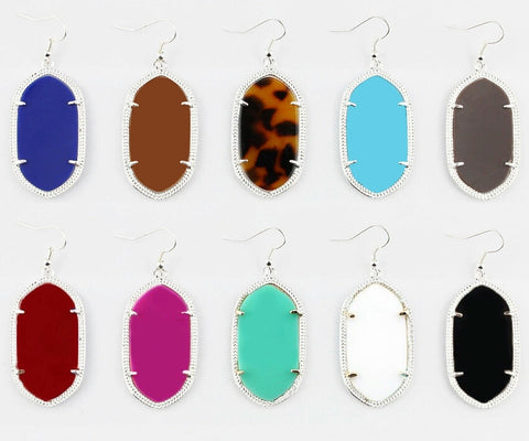 Pendant Earrings - The Mimi Boutique