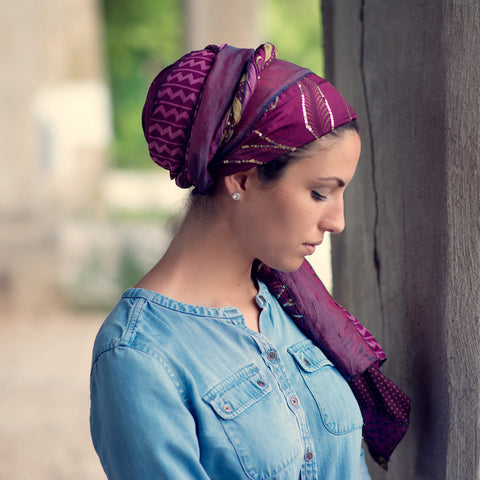Sari Scarf-Flat - The Mimi Boutique