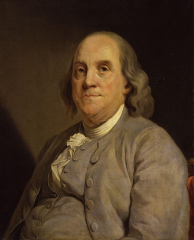 Image of the Great Inventor Benjamin Franklin