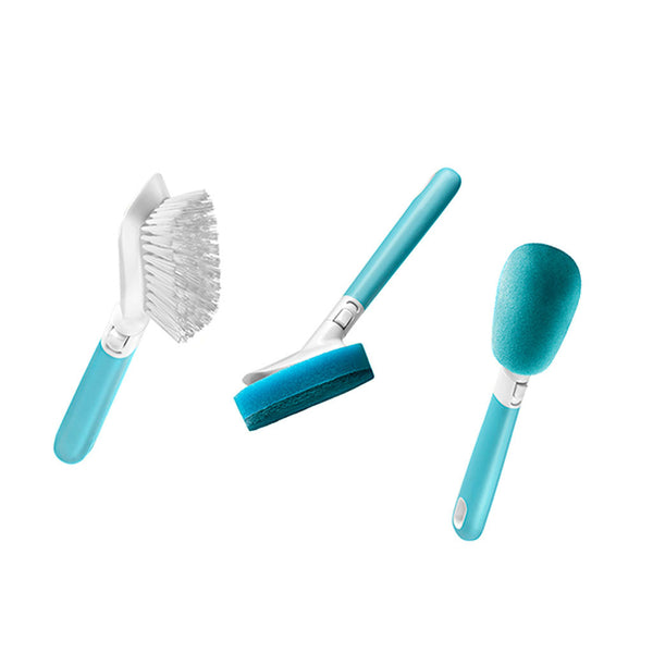 Groove Multi-Head Scrubber + Extra Heads