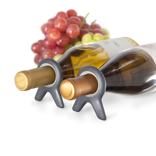 wine resting in wine wine bottle stoppers - Quirky