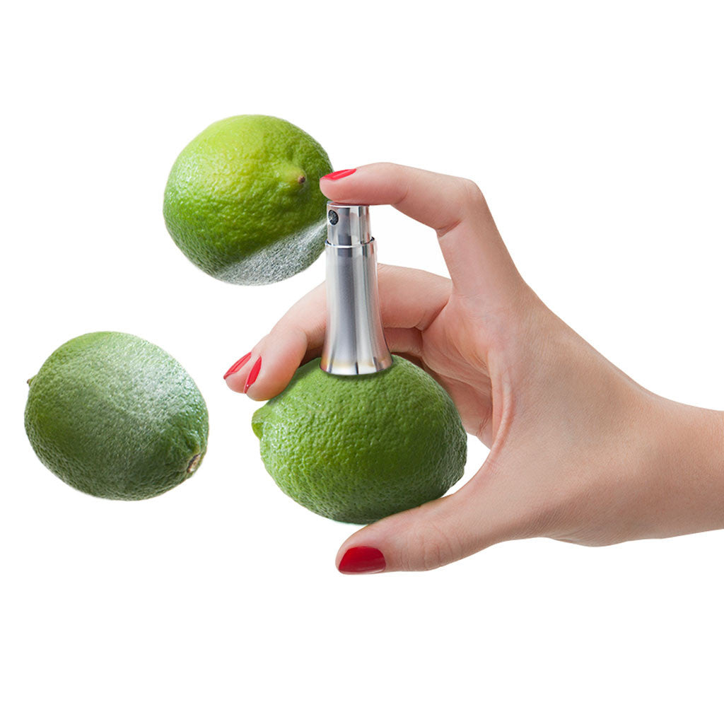 metal juice sprayer with lime - Quirky