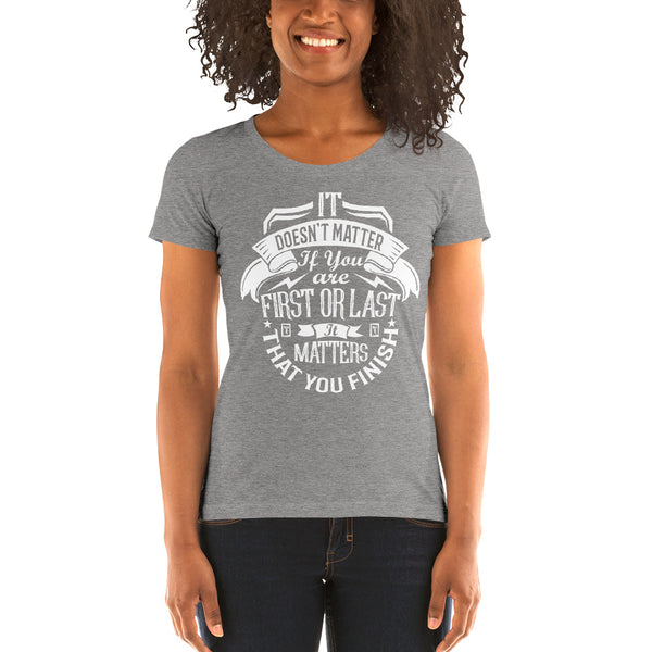 Women's Finish It Tee, SHIRTS, Bertolee Brand