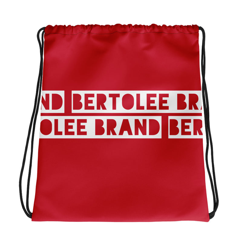 Red Bertolee Carry-All Drawstring bag, BAGS, Bertolee Brand
