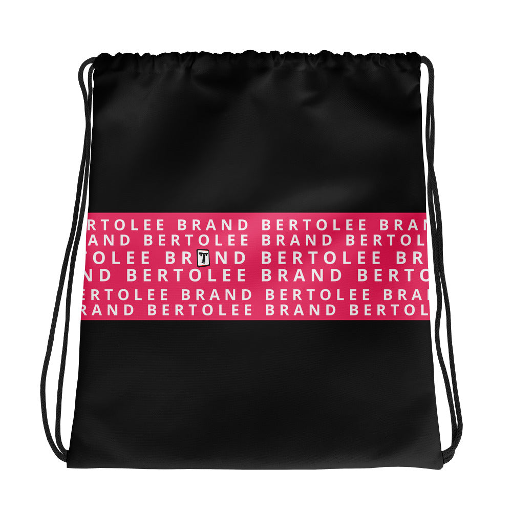 Pink Bertolee Carry-All Drawstring bag, BAGS, Bertolee Brand