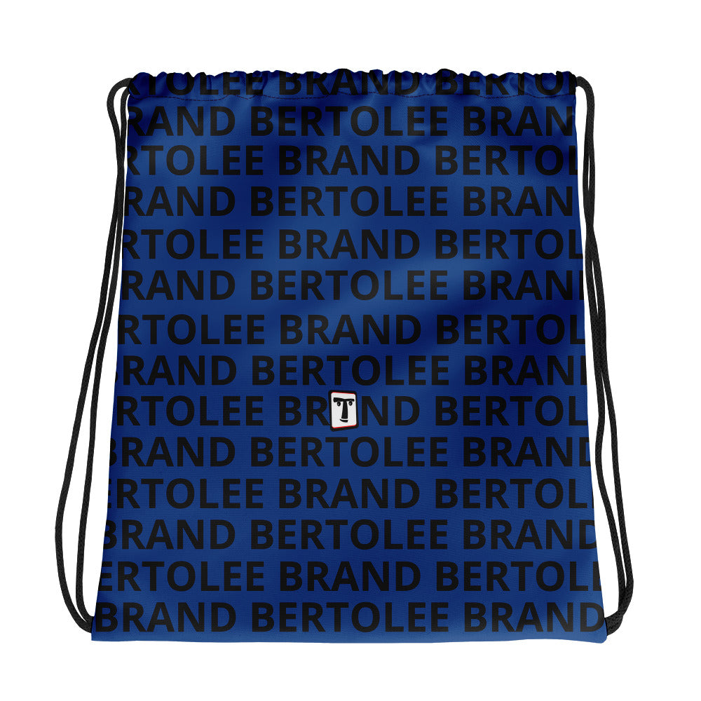 Blue Bertolee Carry-All Drawstring bag, BAGS, Bertolee Brand