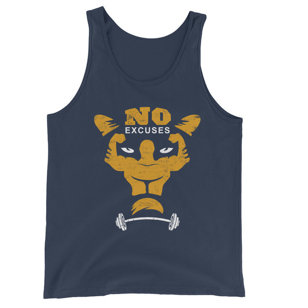 No Excuses Workout Tank Top, SHIRTS, Bertolee Brand