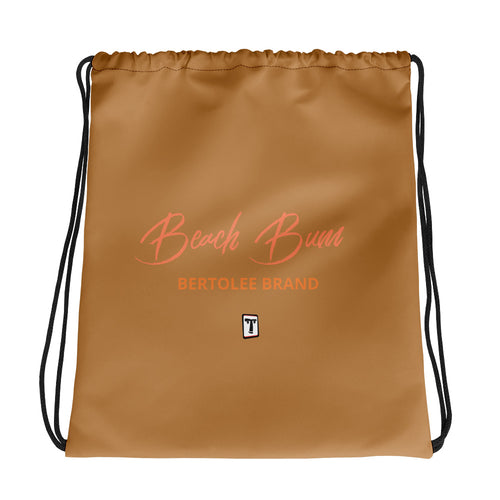 Beach Bum Drawstring bag, BAGS, Bertolee Brand