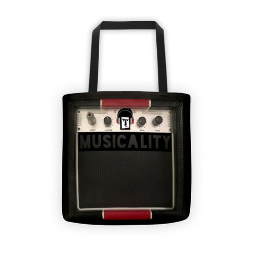 Speaker Amp Music Tote Bag, BAGS, Bertolee Brand