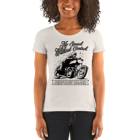 Women's No Speed Without Control Tee, SHIRTS, Bertolee Brand