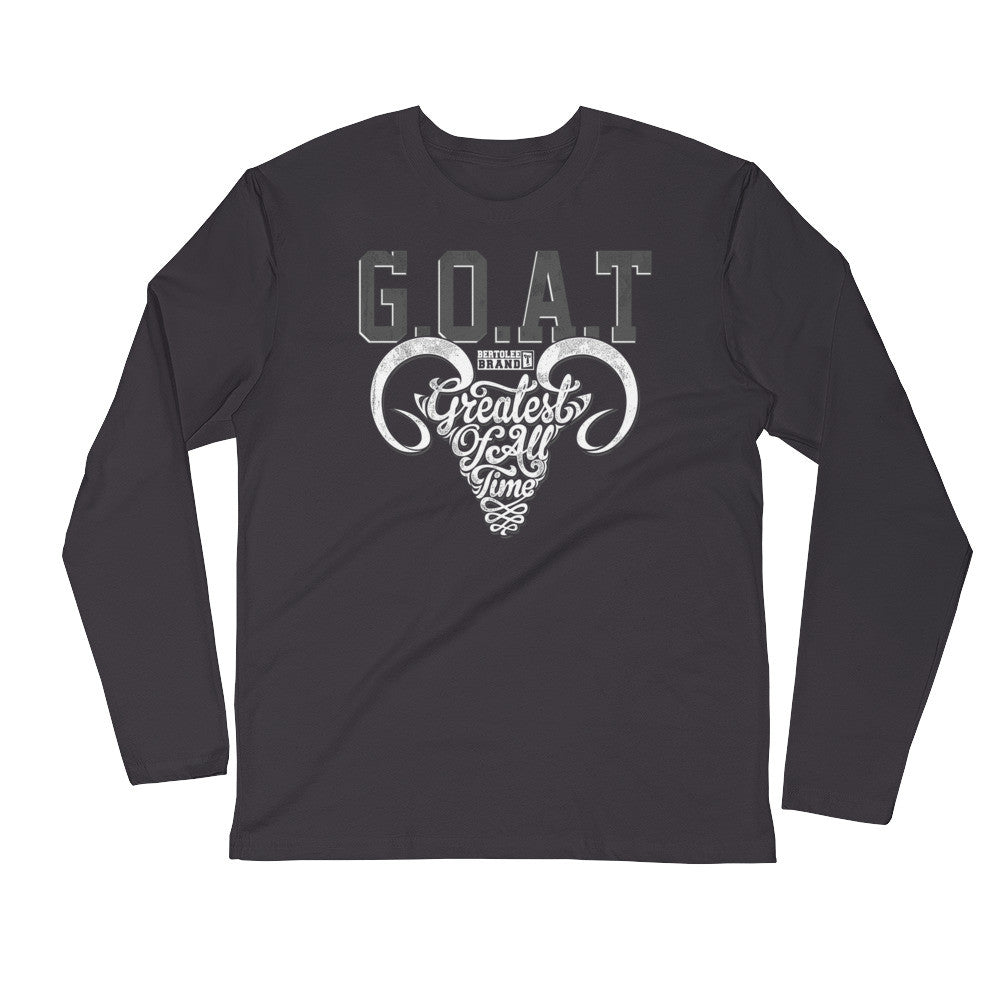 G.O.A.T Long Sleeve Fitted Shirt