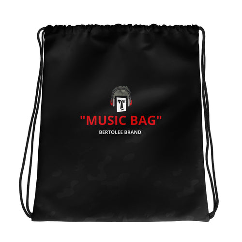 Music Drawstring bag, BAGS, Bertolee Brand