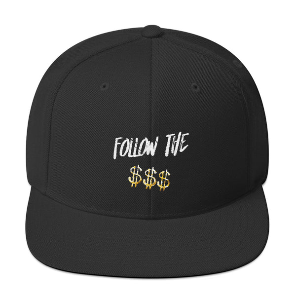 Snapback Hat Follow The Money, HEADWEAR, Bertolee Brand