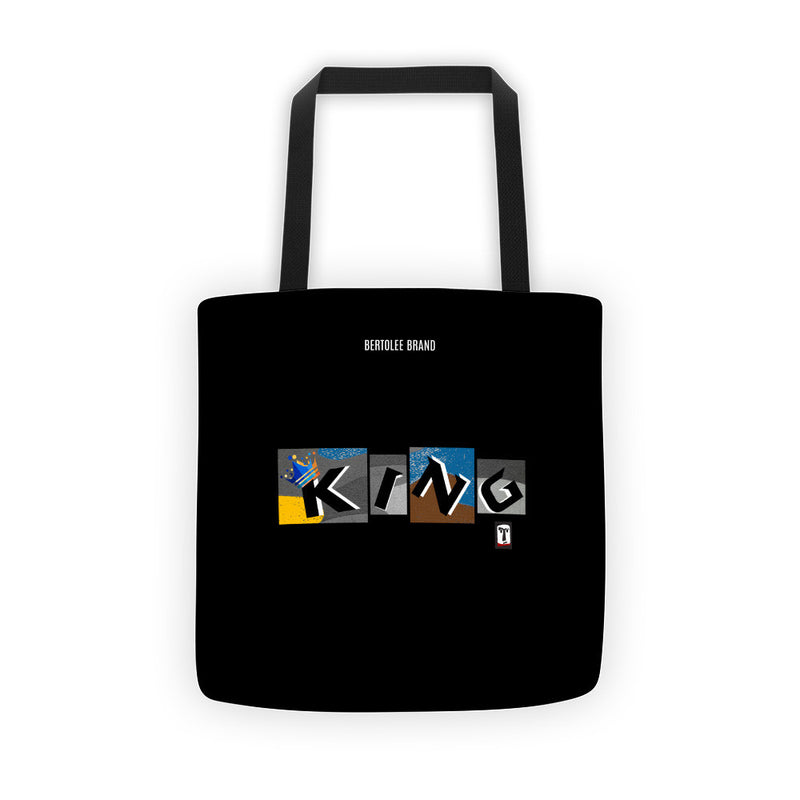 King of the Block Tote Bag, TOTE BAG, Bertolee Brand